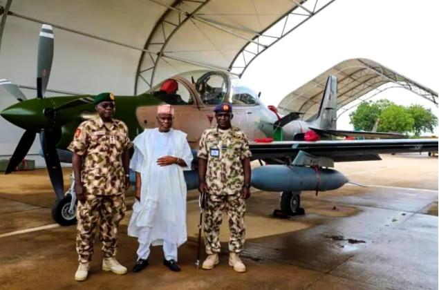 BREAKING: Super Tucano aircraft arrives Nigeria