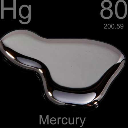 liquid mercury used for amalgam fillings