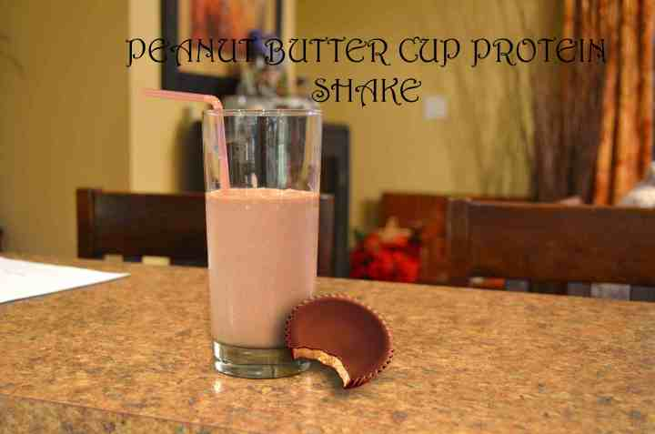 Peanut Butter Cup Protein Shake