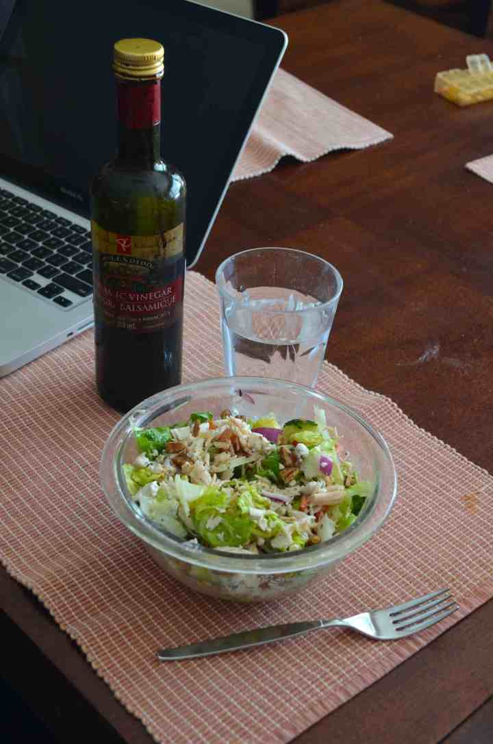 Greek Salad For Lunch