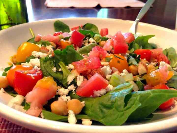 Simple Greek Salad..For Breakfast?