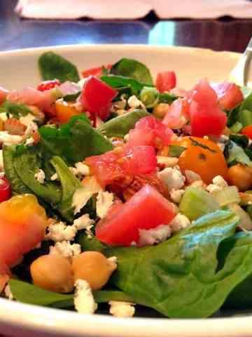 Simple Greek Salad..For Breakfast?