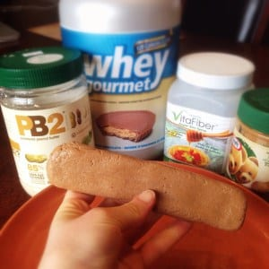 Copy-Cat Peanut Butter Victory Protein Bar
