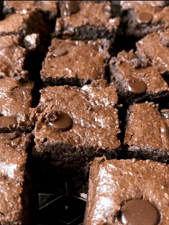 TWO-BITE FAT-BOMB BROWNIES