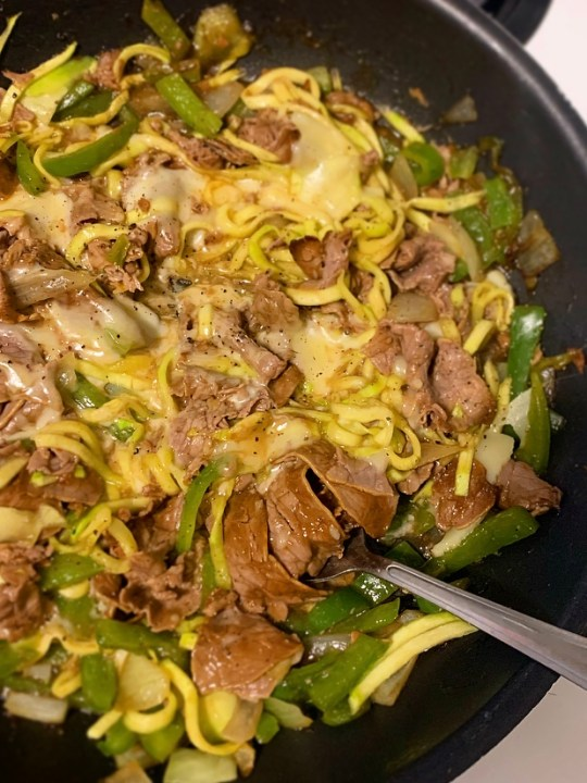 Philly Cheesesteak Stir-fry