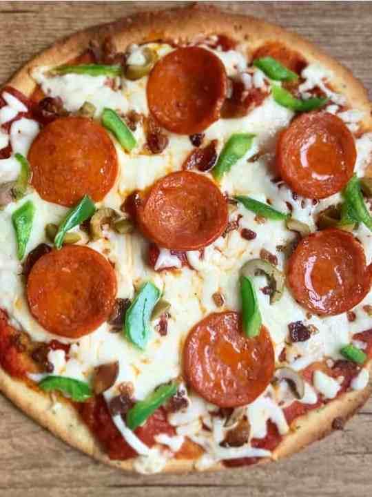 quick keto pizza crust