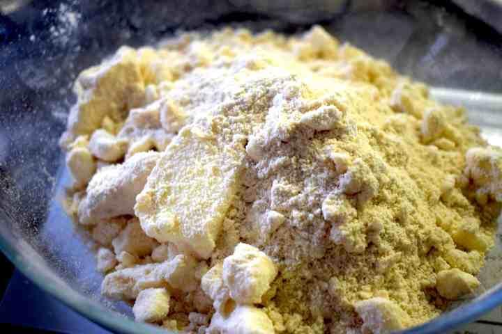 butter almond flour coconut flour