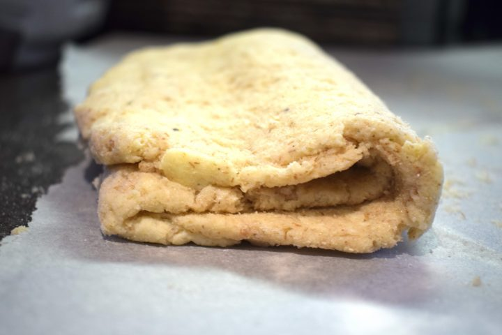 gluten free pastry dough