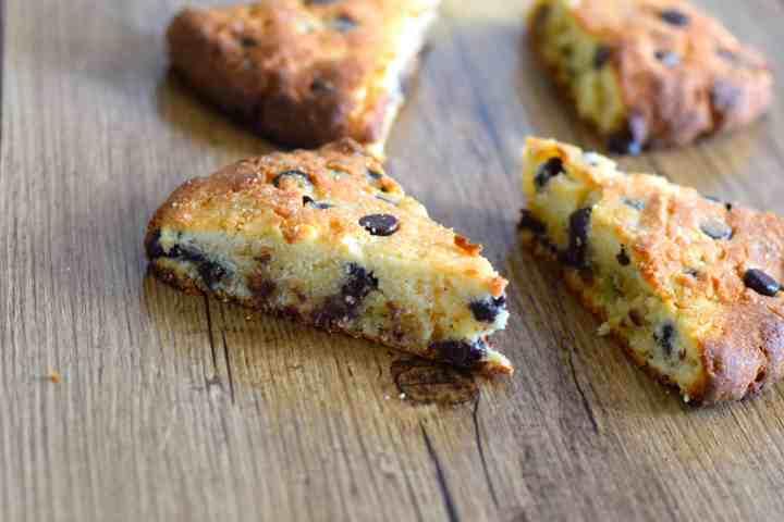 keto chocolate chip scones low carb recipe