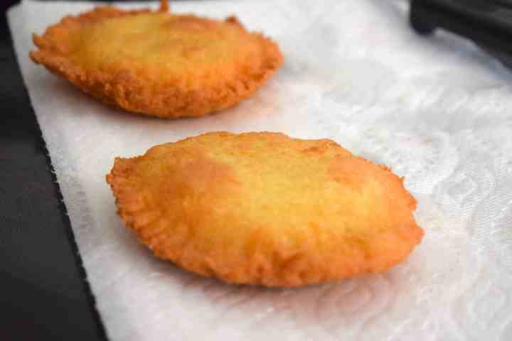 coconut oil fried peanut butter jelly pies