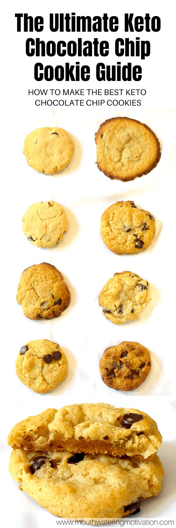 the ultimate keto chocolate chip cookie guide