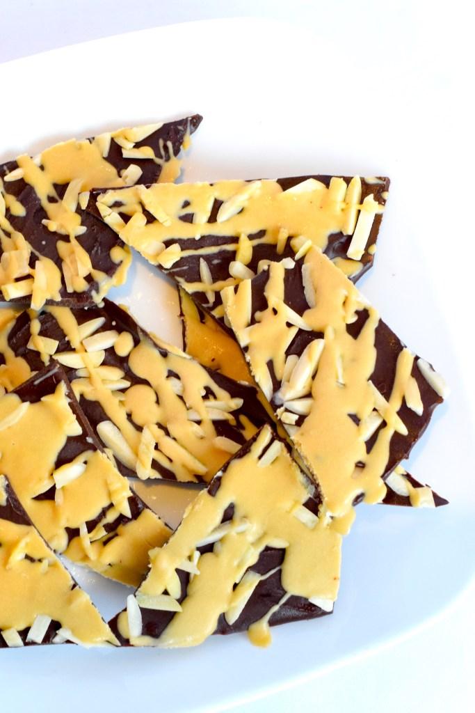 keto chocolate caramel bark