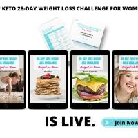 28-Day Keto Weight Loss Challenge For Women