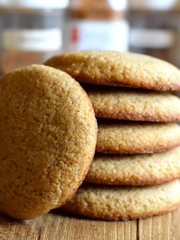 Soft And Chewy Keto Ginger Cookies