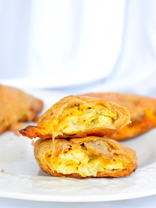 Keto Sausage And Egg Breakfast Pockets