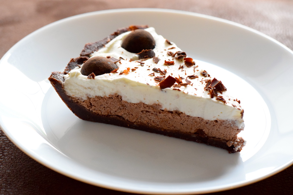 keto chocolate pudding pie