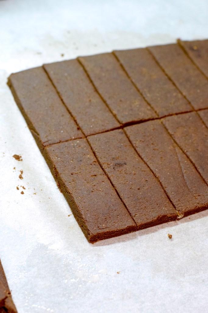 keto chocolate almond flour shortbread