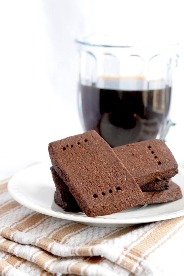 keto chocolate shortbread cookies recipe