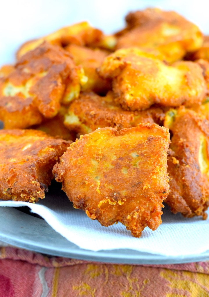 keto easy cauliflower fritters