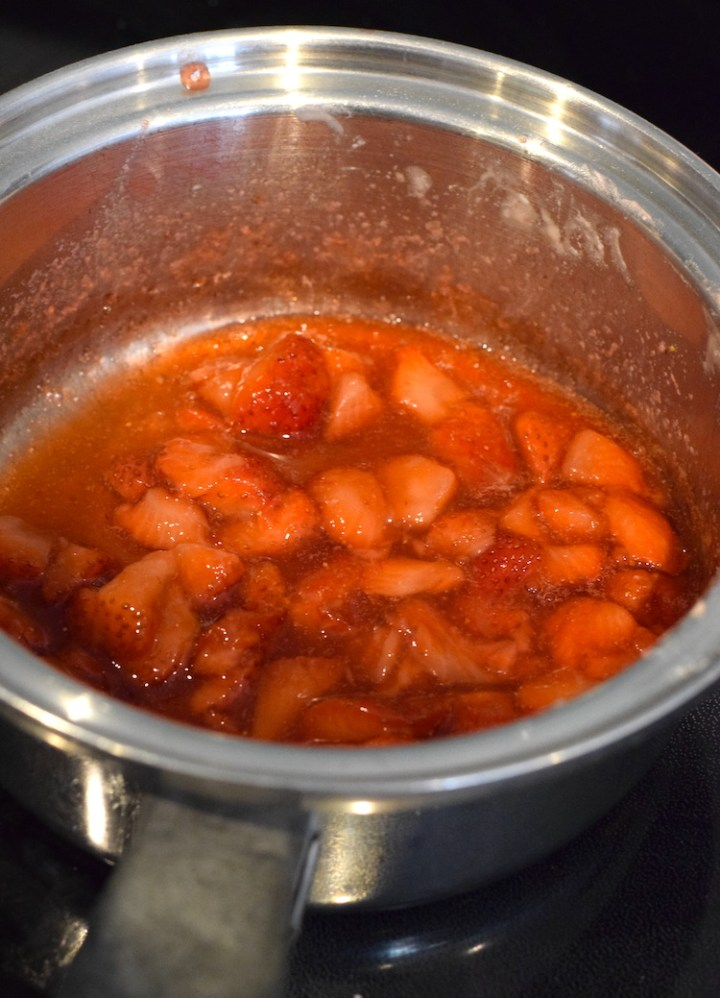 sugar free strawberry sauce