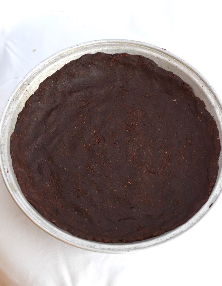 keto chocolate hazelnut crust