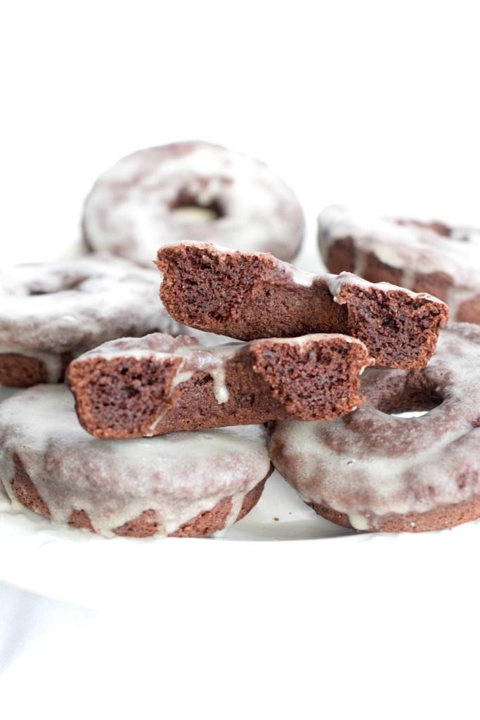 keto sour cream chocolate donuts