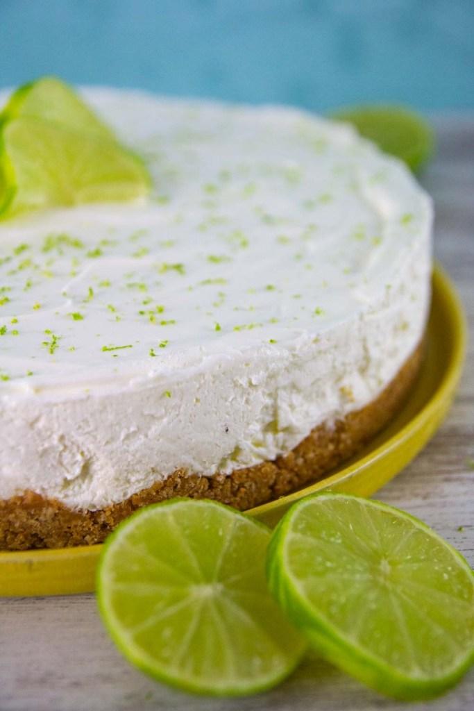 no bake keto low carb key lime cheesecake easy recipe