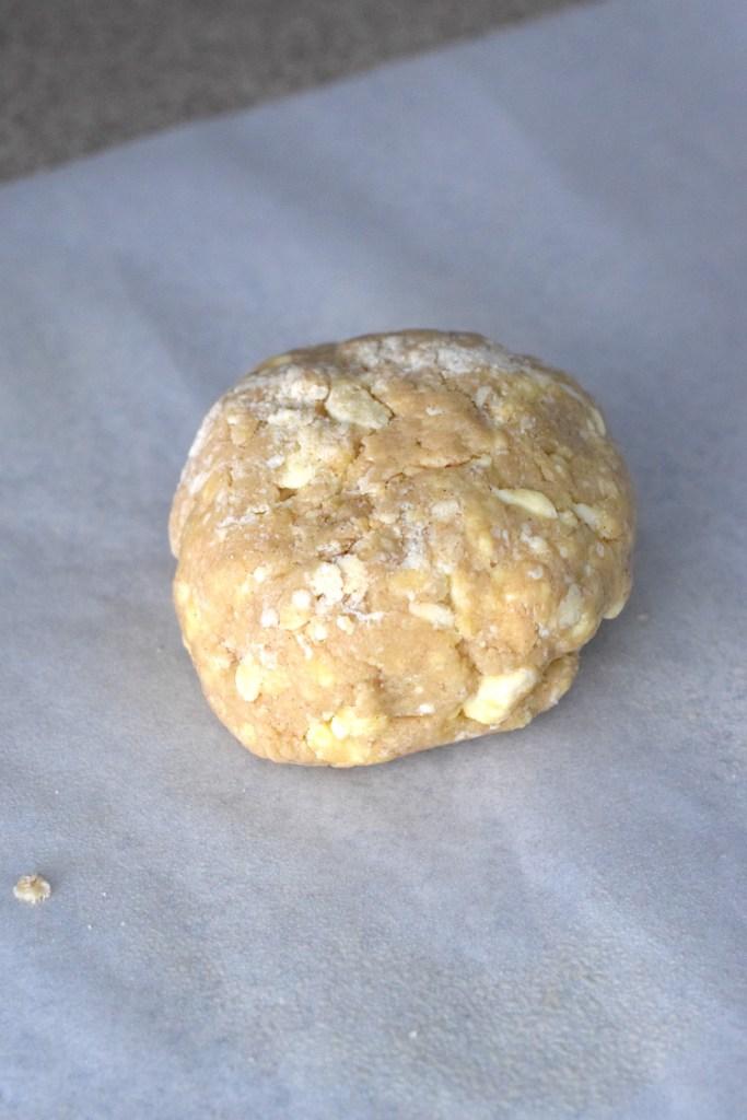keto puff pastry dough ball