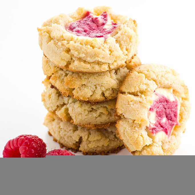 low carb raspberry cheesecake cookies recipe