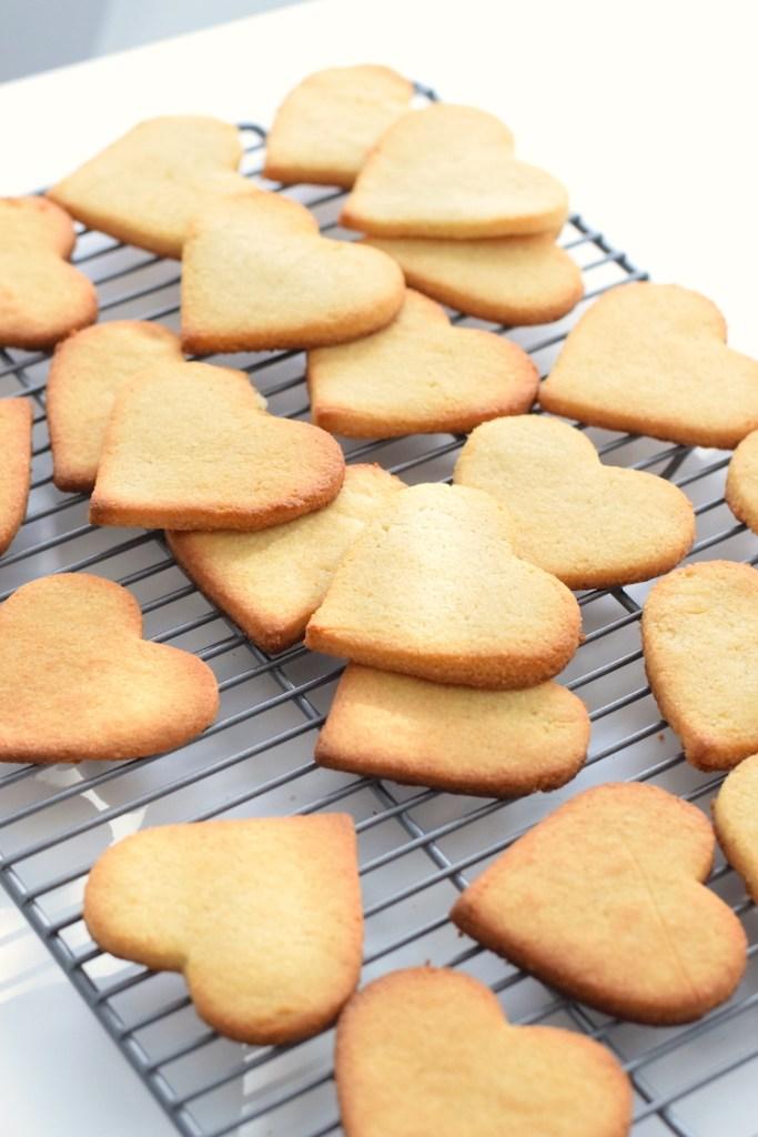 keto heart shaped cookies