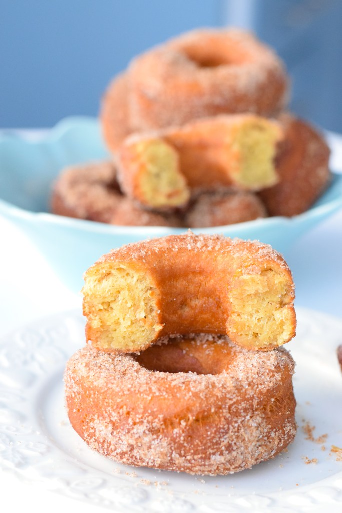 yeast keto fried donuts
