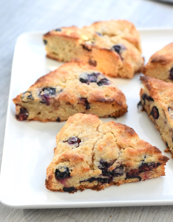 keto blueberry scones recipe