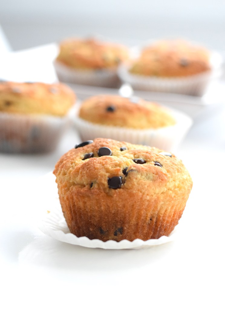 keto healthy chocolate chip muffins