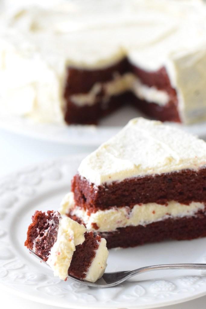 keto red velvet sugar free cake