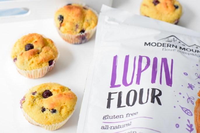 lupin flour muffin recipe