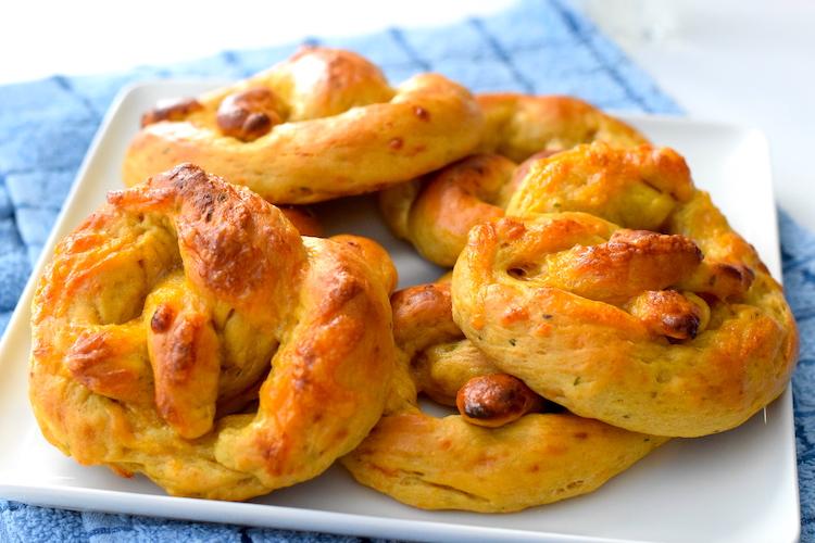 low carb soft pretzels