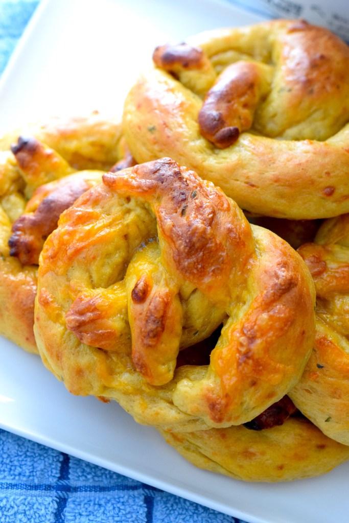 lupin flour keto soft pretzels