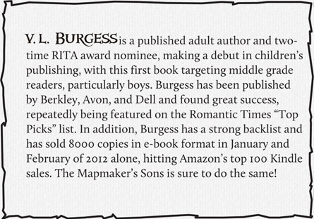 About the Author - V.L Burgess