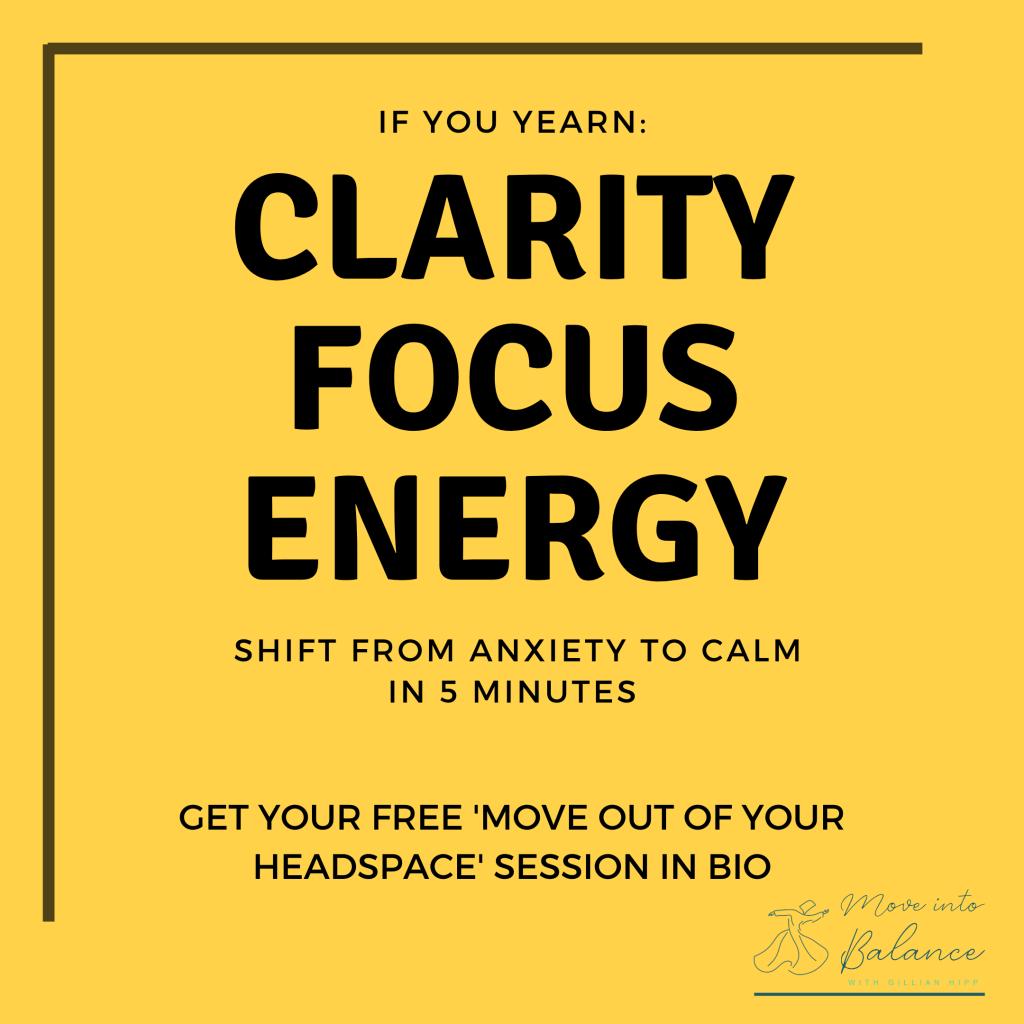 grounded, clarity, focus, energy
