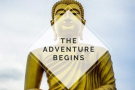 Thailand – The Adventure Begins: Trip Planner & Travel Journal Notebook To Plan Your Next Vacation In Detail Including Itinerary, Checklists, Calendar, Flight, Hotels & more