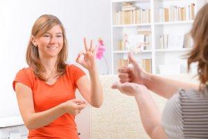 LIS sign language
