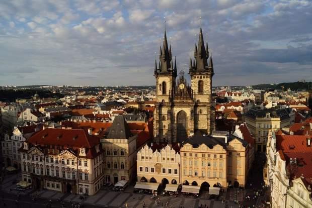 Praga - Piazza S. Venceslao
