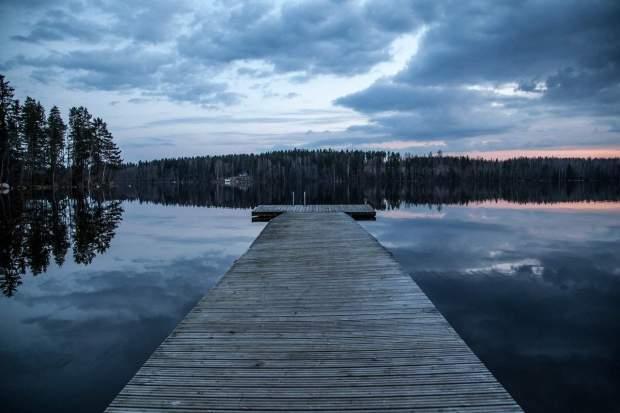 Finlandia - lago