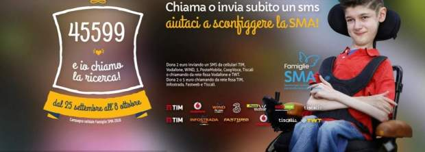 Famiglie SMA - spot con Checco Zalone