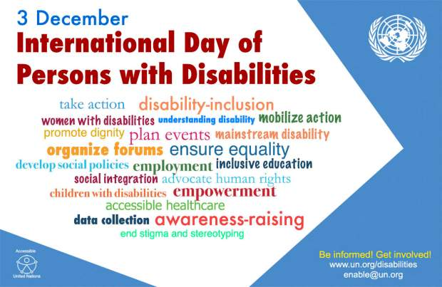 World Disability Day 2016_poster