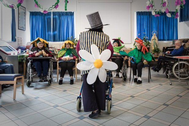 theatre-therapy with disabled people