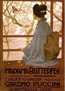 Madama Butterfly - locandina