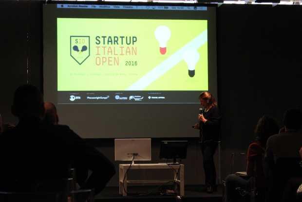 Cetty Ummarino allo Startup Italian Open 2016