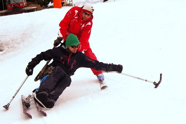 skiing for disabled people