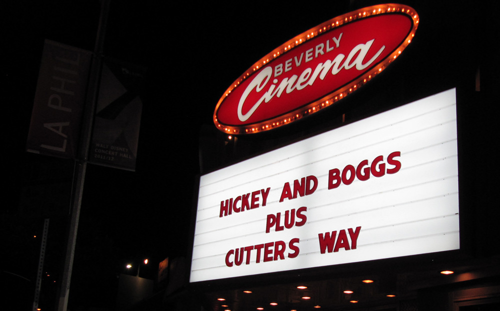 """Hickey and Boggs and Cutter's Way at the New Beverly Cinema during Edgar Wright's """"The Wright Stuff"""""""